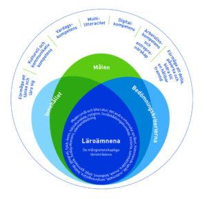 I läroplanen för den grundläggande utbildningen är multilitteracitet en av de sju kompetenser som lyfts fram. (LP 2014)