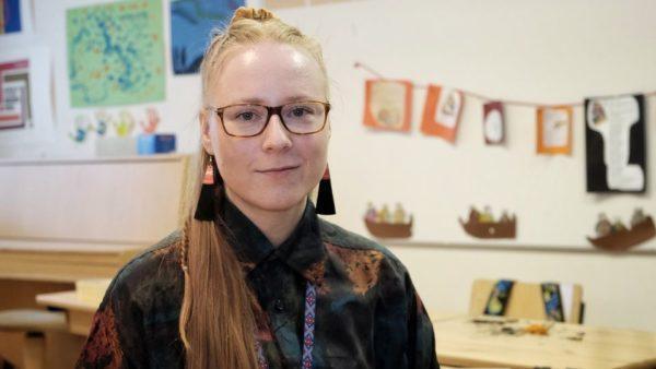 Opettaja Milla Pulska