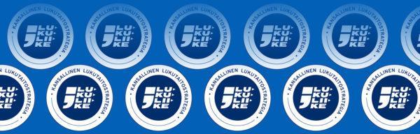 Kansallinen lukutaitostrategia logoja
